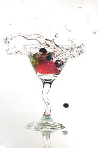 A Berry Good Martini!
