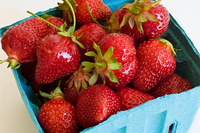 Box of Maine Strawberries