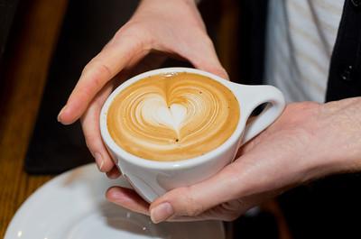 A Heart-Shaped Latte