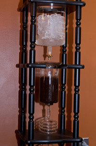 cold-brewed Siphon coffee.