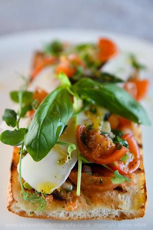 Castellamare Restaurant, Bracelet Bay.  BYLINE Photograph by Adrian White