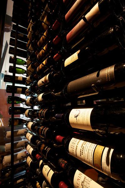 Wine Cooler Interior, Zambrano Wine Cellar, Fort Worth