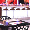 "YO Sushi brings modern Tokyo to Washington, DC in a brand new location in Union Station.  The sushi conveyor-belt restaurantoffers game-changing service, such as a a triple filtered water tap at your table and a ""help-button""."