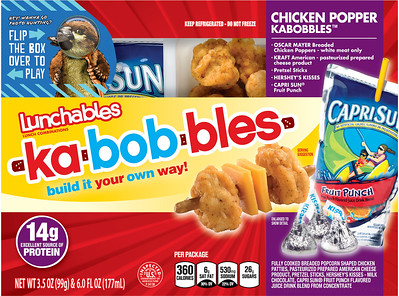 Lunchables kabobbles