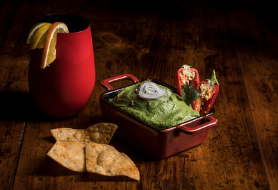 House Made Guacamole and Sangria