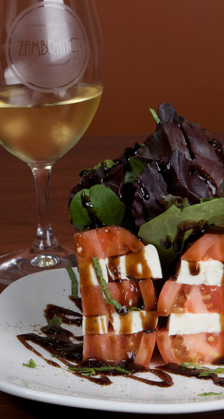 Caprese, Zambrano Wine Cellar, Fort Worth