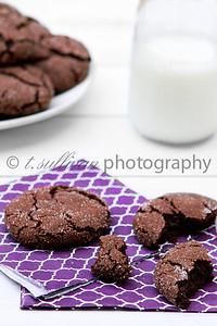 Chewy Chocolate Sugar Cookies