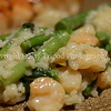 Shrimp Risotto With Spinach and Asparagus