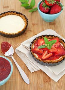 Strawberry Cheesecake Tarts