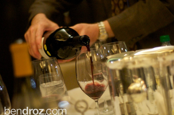 Hearts Delight hosts their annual Wine dinner at Palmer's Steak to kick off a weekend of wine.