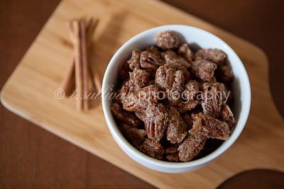 Cinnamon sugar pecans