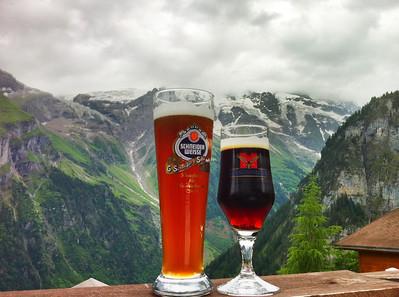 Slainte, Salud, Cheers to Gimmelwald!