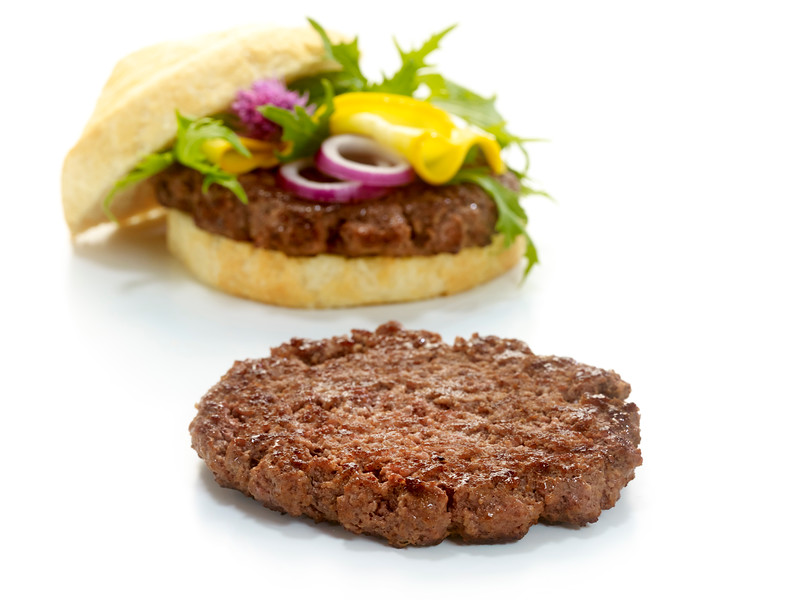 FOODWORKS Burger Homestyle toores, 100% veis (198g)