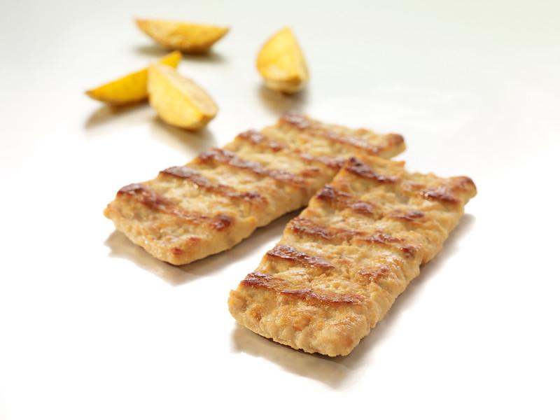 140199 - Foodworks Sealihapihv a`la Ribi (eelküpsetatud) 72g*100 tk(7,2 kg kastis)<br /> Pork Rib Burger 2910000