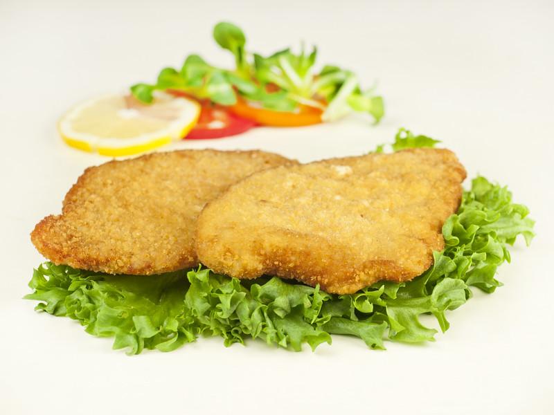 140699Saksapärane seašnitsel (eelküpsetatud) 100*80gr(kastis 8kg) Pork schnitzel 100 gr