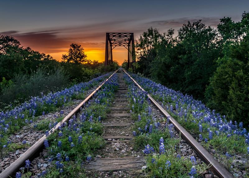 Trestle in Kingsland, Texas