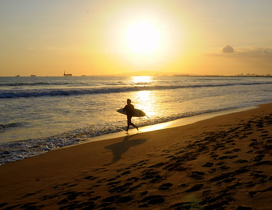 """Hit The Waves""  Sunset Beach, CA"