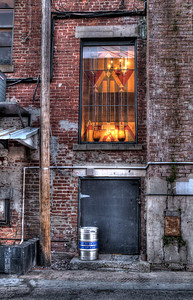"""Stain Glass""  back alley, Ocala, FL"