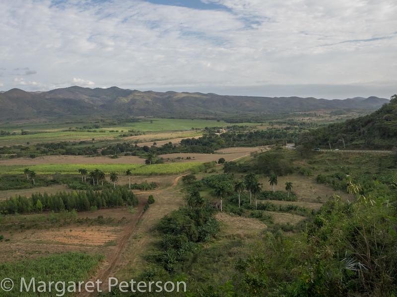 Former sugar cane valley