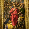 Disrobing of Jesus painted by El Greco