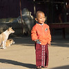 A very young Novice Monk