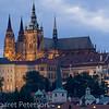 St. Vitus church in Prague Palace area