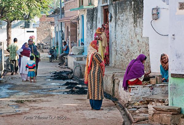Bassi street scene