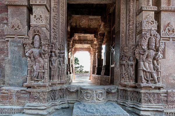 Jain temple @ Menal