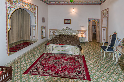 OUR Bassi haveli = 2 rooms!
