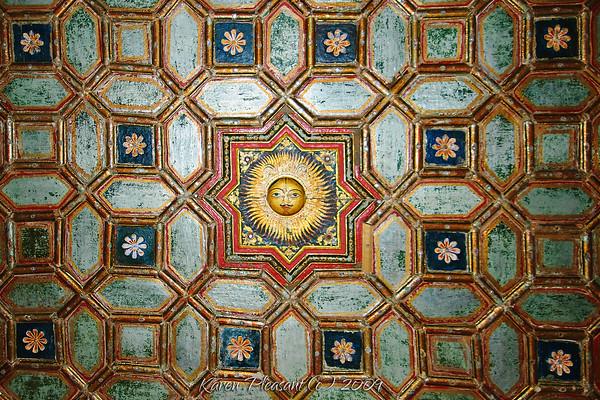 Junagarh Fort - ceiling