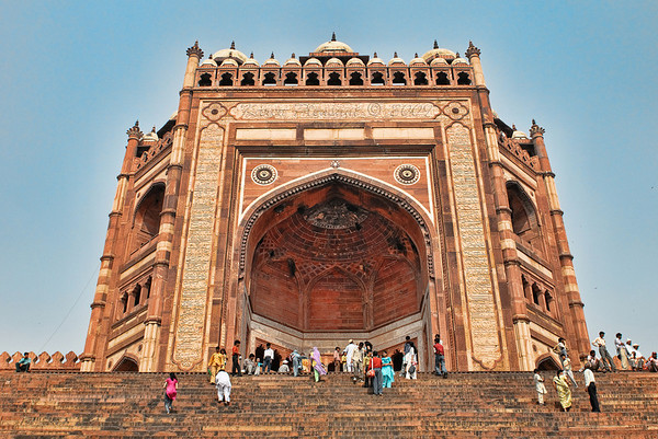Fatepur Sikri,  Mosque entrance, India
