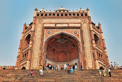 Fatepur Sikri,  Mosque entrance, India