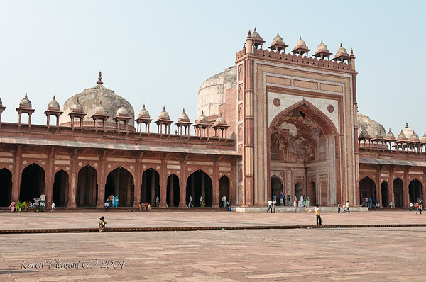 Fatepur Sikri,  Part of the mosque