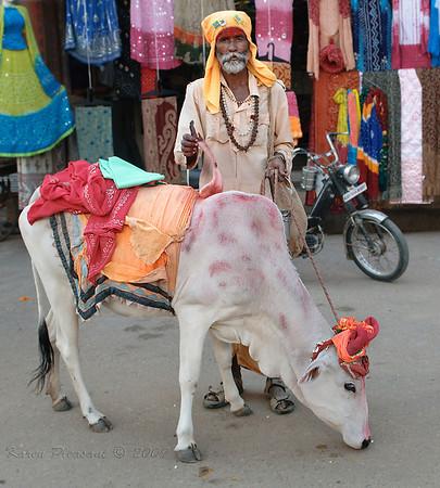 Pushkar street scene