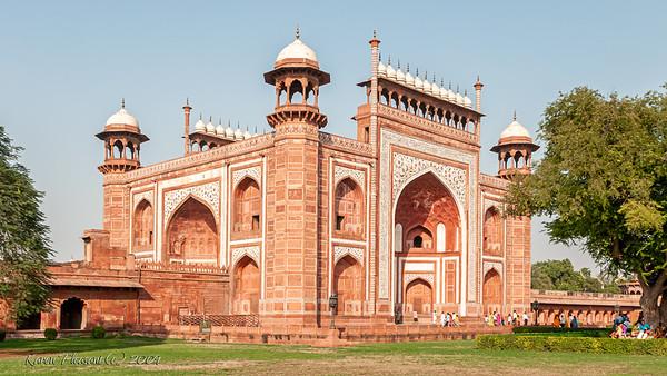 Taj Mahal main gate