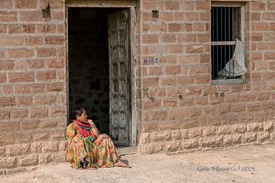 Bishnoi woman -  Guda Village