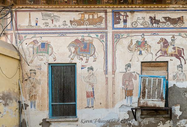 Mandawa murals