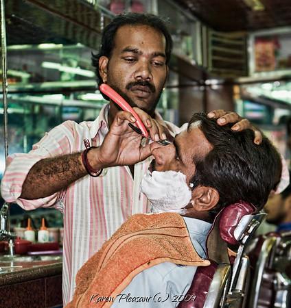 Mandawa barber shop