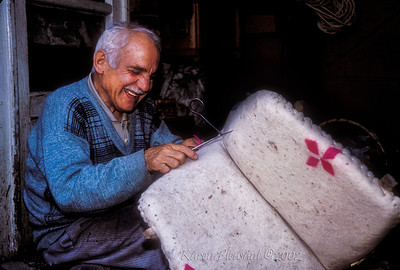 Saddle maker, Karacasu Village