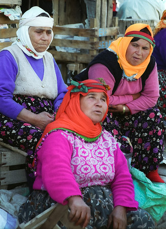Local women. Turkey