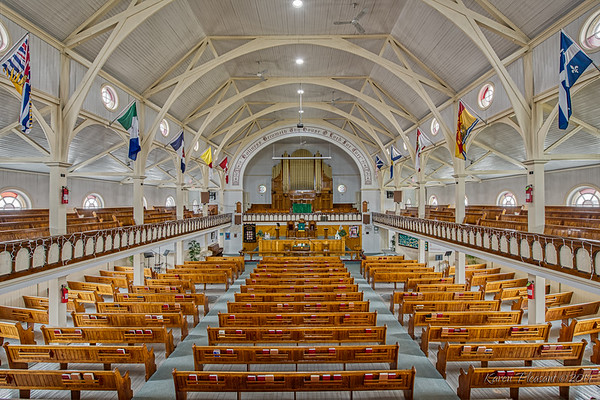 Memorial United Church, Bonavista, Newfoundland