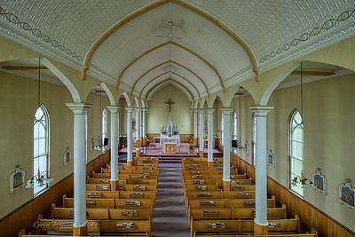 Church on Cabot Trail, Nova Scotia