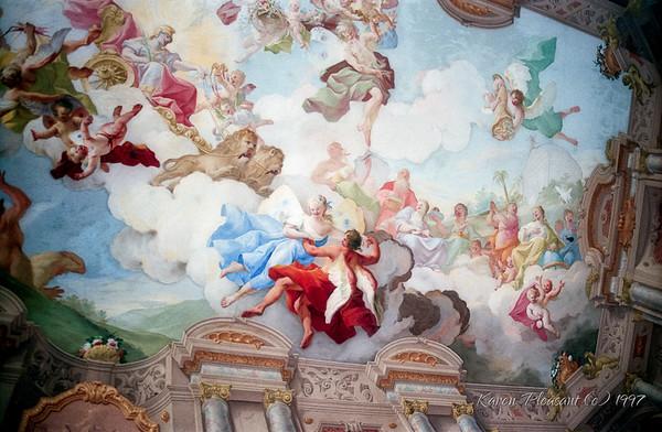 Marble Hall, Melk Abby, Austria