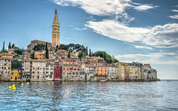 Old medieval town of Rovinj