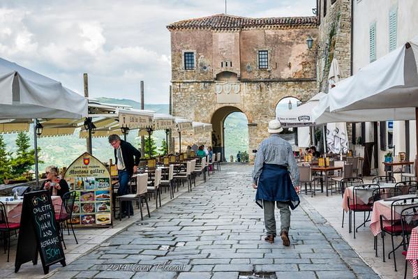 Entrance to Motovun