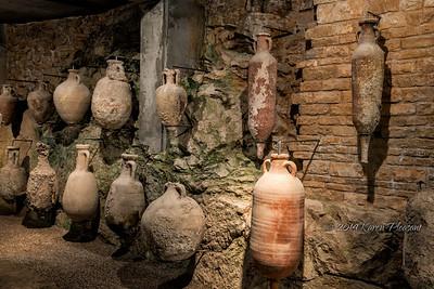 Eathware jugs, Pula coliseum museum