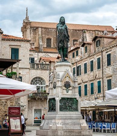 Statue of Ivan Fran Gundulic