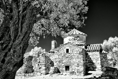 Naxos, Greece  (Infra Red)