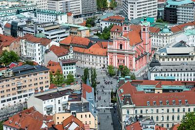 Ljubljana - Old City Center