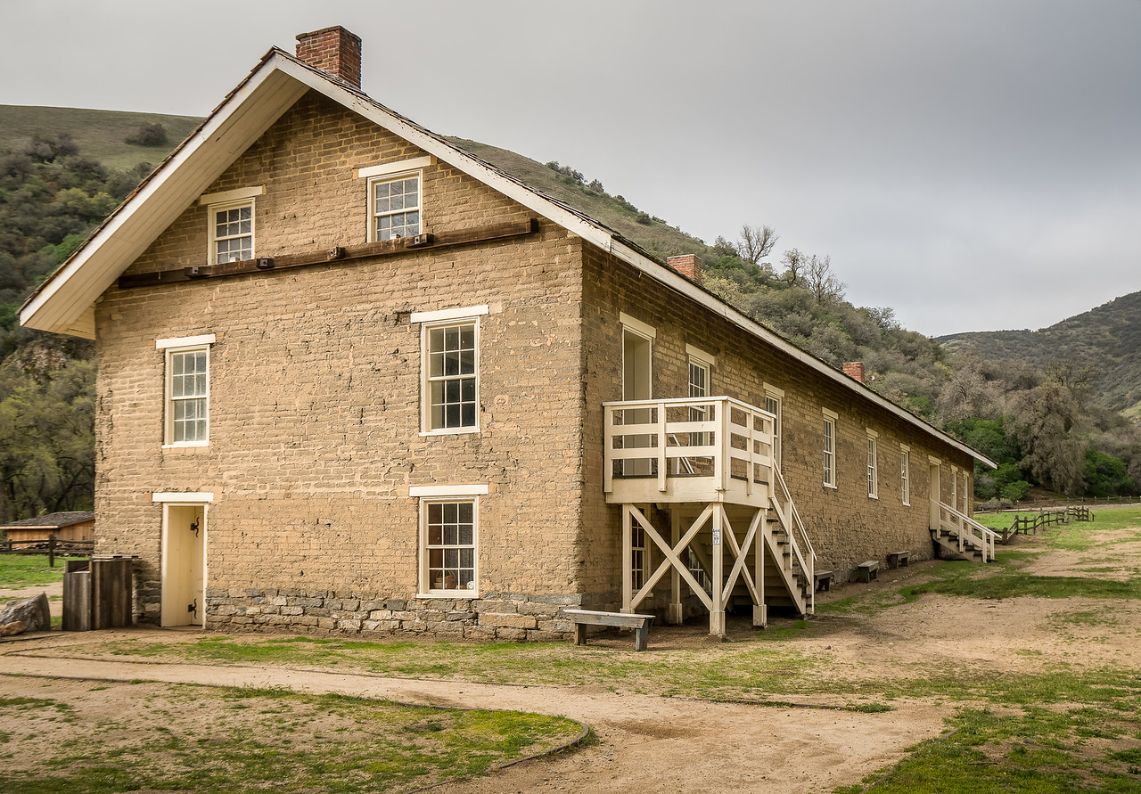 The Enlisted Barracks at Fort Tejon